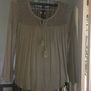 Mossimo Bell Sleeve Top Sz M See description!!
